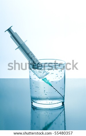 Water test - stock photo