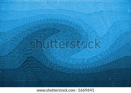 water twirl - stock photo