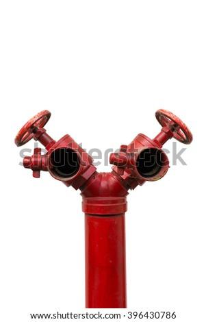 Water valve Fire - stock photo