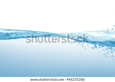 water,water splash isolated on white background,beautiful splashes a clean water