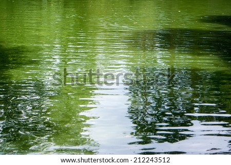 Water waves for nature backgrounds - stock photo