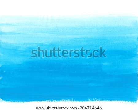 "Watercolor abstract background ""water"" - stock photo"