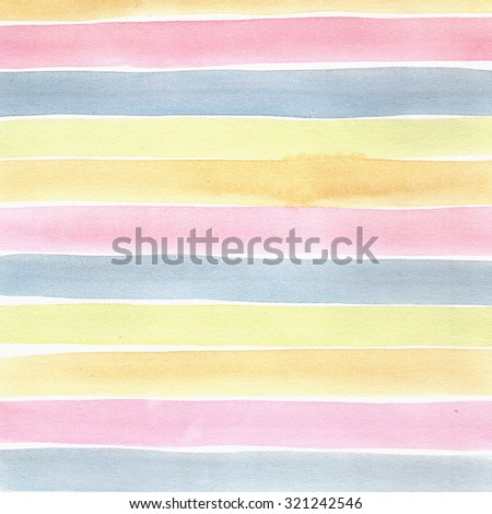 watercolor abstract stripes background