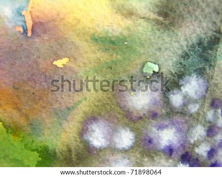 Watercolor Background 1 - stock photo