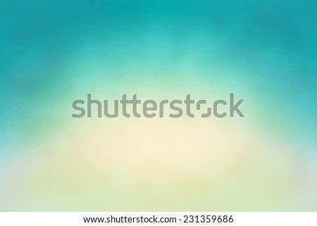 Watercolor Blue And White Paper Texture Background For Artwork, Design Element - stock photo