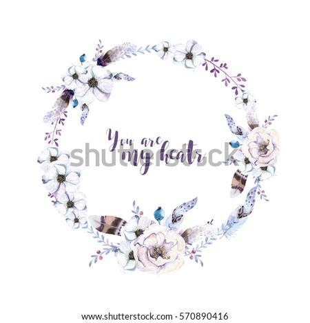 Turkish ottoman furniture - Round Boho Flower Stock Images Royalty Free Images