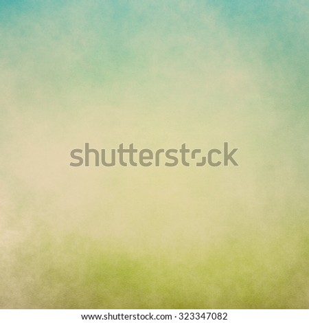 Watercolor like spring summer scene background texture
