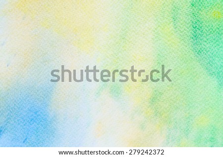 watercolor on paper background texture - stock photo
