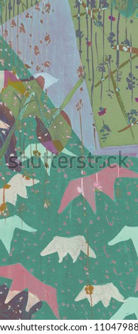 Watercolor painting. art background - stock photo