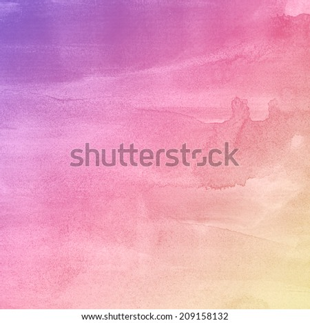 Watercolor paper texture, paper background. - stock photo