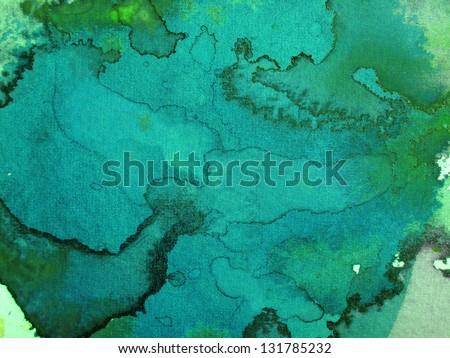 watercolor wash designs - stock photo