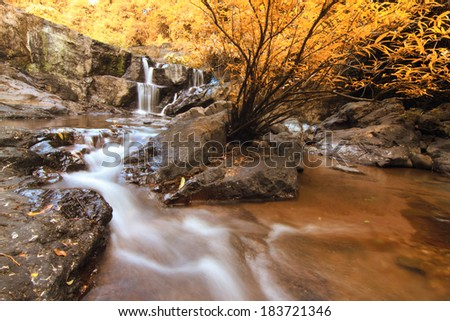 Waterfall Fall Color