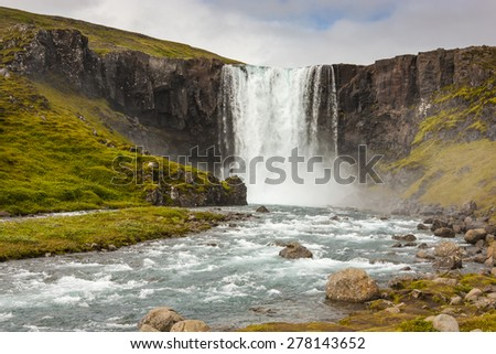 Waterfall / Iceland
