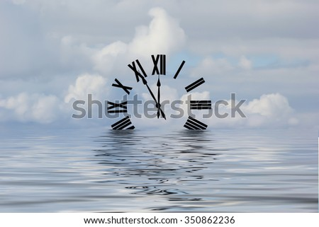 Waters of Time - stock photo
