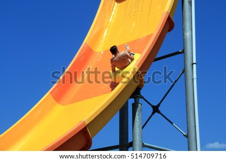 Waterslide Stock Images Royalty Free Images Vectors Shutterstock