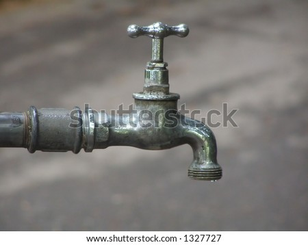 Watertap - stock photo