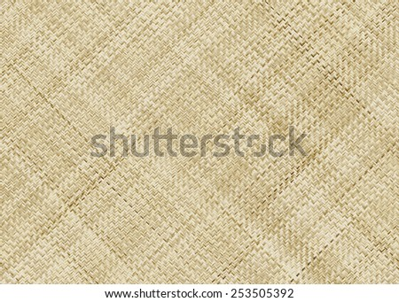 wattled texture. handmade wicker pattern - stock photo