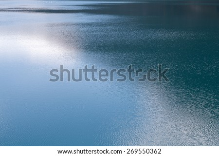 Wave, Lake, Water Surface - stock photo