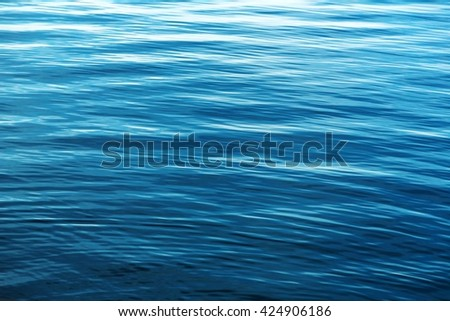 Wave of the sea - stock photo