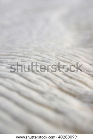 wave snow structure - stock photo