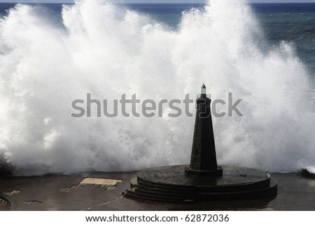 waves - stock photo