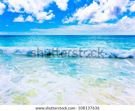 Waves Sea Surf - stock photo