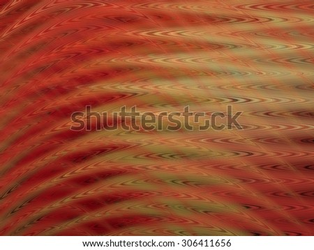 Wavy abstract fractal background - stock photo