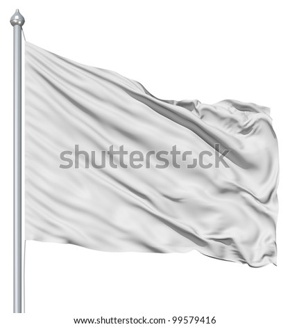 Wavy white textile background with rippled effect - stock photo
