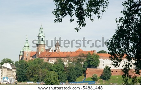 Wawel castle in Krakow