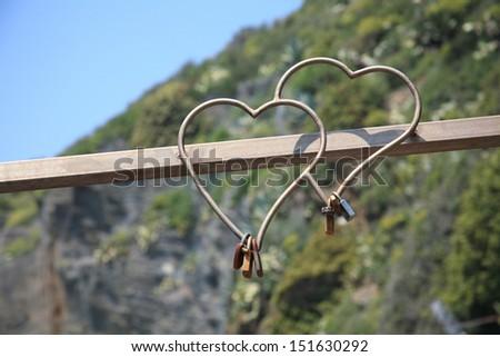 way of love Cinque Terre national park liguria - stock photo