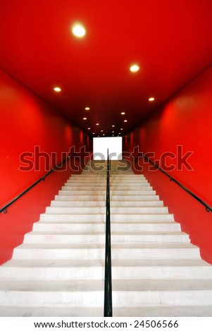 Way to Success - stock photo