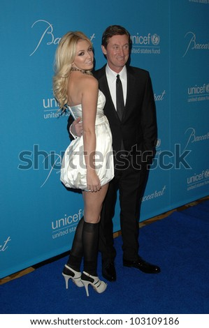 Wayne Gretzky and daughter Paulina  at the 2009 UNICEF Ball Honoring Jerry Weintraub, Beverly Wilshire Hotel, Beverly Hills, CA. 12-10-09