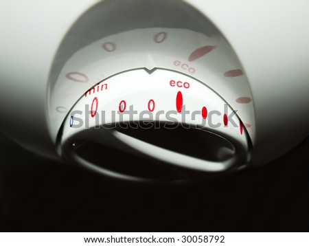 We are trying to keep energy consumption of household appliances around the threshold of cost-effectiveness - stock photo