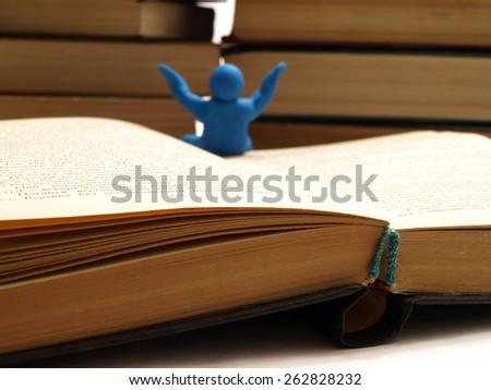 We invite all to study - stock photo