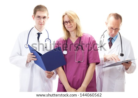 We take care of you anytime! - stock photo