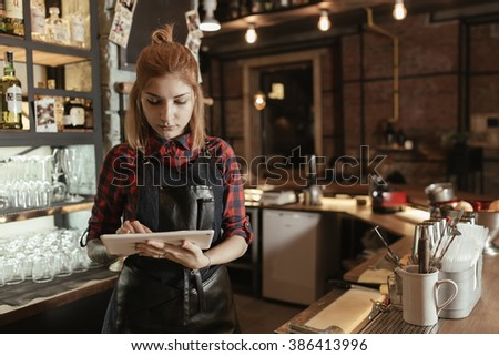 We've gone digital for a better customer experience - stock photo