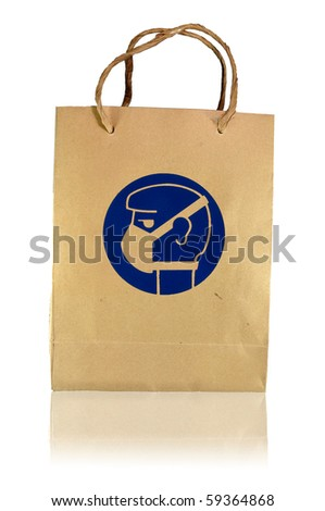 wear mask protection - stock photo