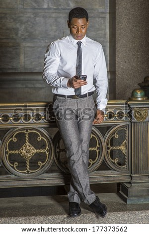 Dressing White Shirt Black Tie Gray Stock Photo 170964452 ...
