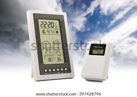 Weather forecast concept - stock photo