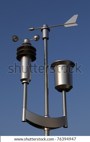 Weather Station - stock photo
