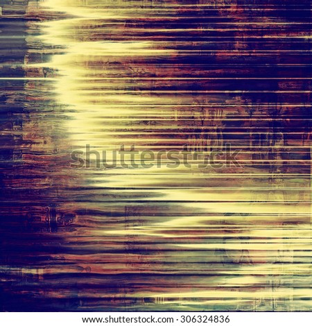 Weathered and distressed grunge background with different color patterns: yellow (beige); green; blue; purple (violet) - stock photo