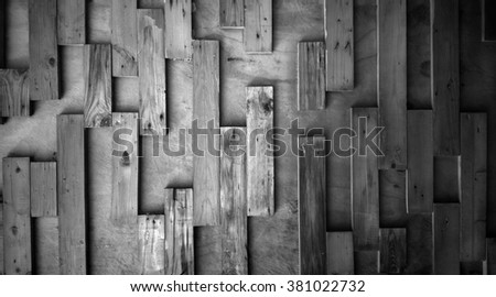 weathered barn wood background with knots. black old wood