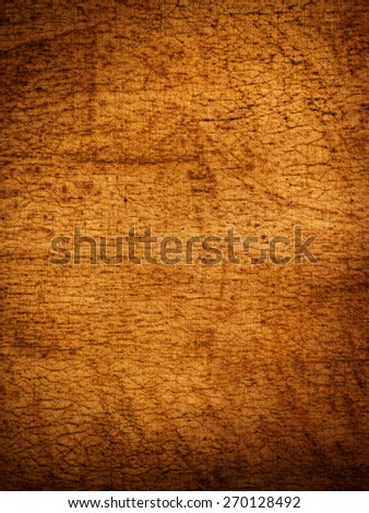Weathered canvas with dark vignette - stock photo