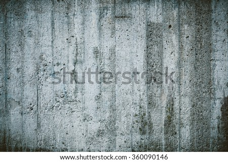 Weathered concrete wall texture - stock photo