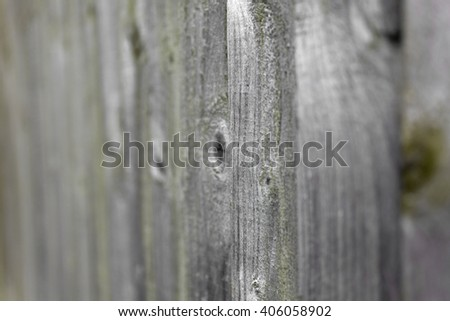 Weathered fence panel details outside