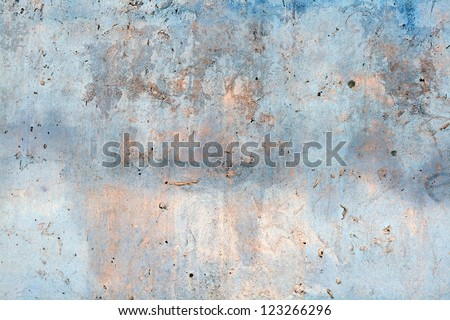 Weathered old wall - stock photo