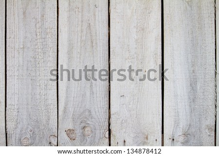 Weathered Pine Boards Bandsaw cut white pine boards naturally weathered - stock photo