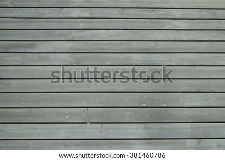 Weathered Pine Siding Boards - stock photo