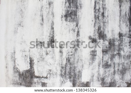Weathered stucco wall - stock photo
