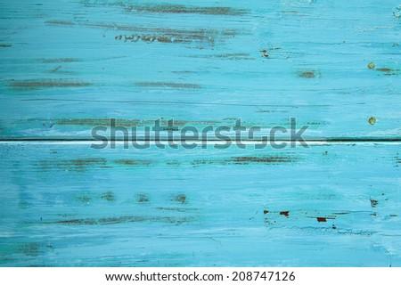 weathered wood blue grey grunge wood texture - stock photo